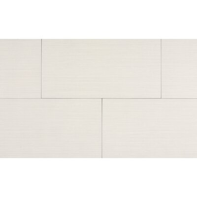 "Kaska Element Series 12"" x 24"" Porcelain Tile in Bone"