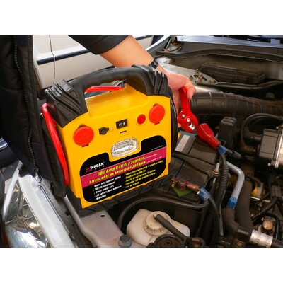Wagan Jump Starter with Air Compressor