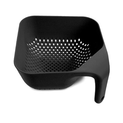 Joseph Joseph Small and Medium Square Colander in Black
