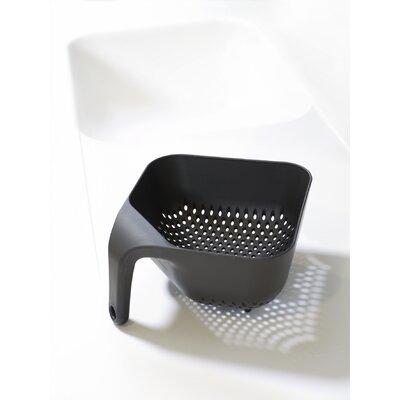 Joseph Joseph Large Square Colander in Black