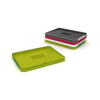 Joseph Joseph Large Cut and Carve Chopping Board in Green