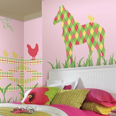 WallPops! ZooWallogy Addison The Horse Wall Decal