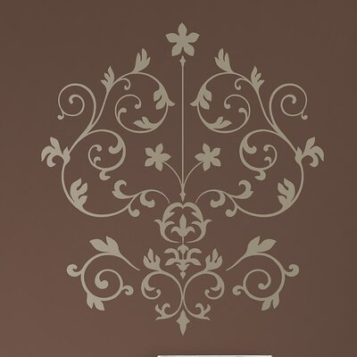 WallPops! Sheets Nouveau Damask Wall Art