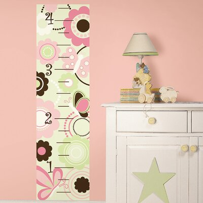 WallPops! Butterfly Garden Growth Chart Growth Chart