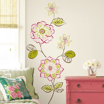 WallPops! Sheets Des Fleurs Wall Decal