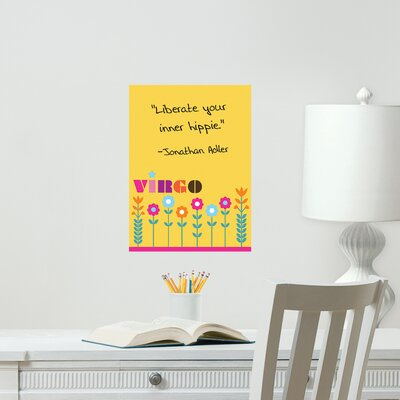 Jonathan Adler Dry Erase Virgo Board Wall Decal