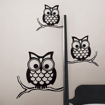 WallPops! Art Kit Give a Hoot Small Wall Decal