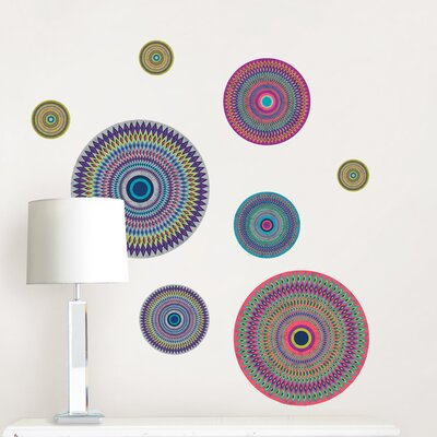 WallPops! Art Kit Mandalay Small Wall Decal