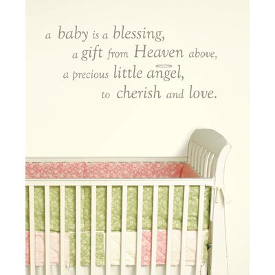 WallPops! A Baby is a Blessing Baby Wall Wishes Decal