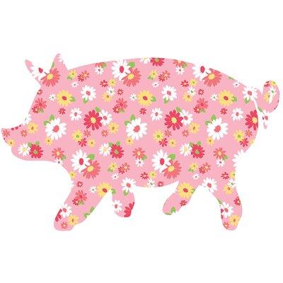 WallPops! ZooWallogy Scarlett The Pig Wall Decal
