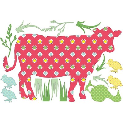 WallPops! ZooWallogy Dakota The Cow Wall Decal
