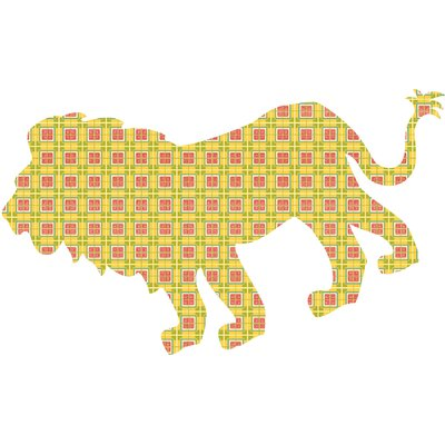 WallPops! ZooWallogy Ozzie The Lion Wall Decal