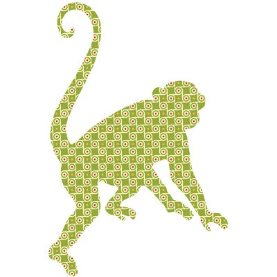 WallPops! ZooWallogy Antoinne The Monkey Wall Decal