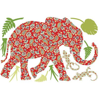 WallPops! ZooWallogy Mabuza The Elephant Decal