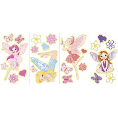 WallPops! Fairies Glow in the Dark Wall Art Kit