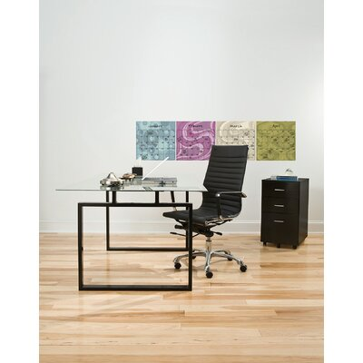 WallPops! Dry-Erase 4 Piece Twister Calendar Wall Decal Set