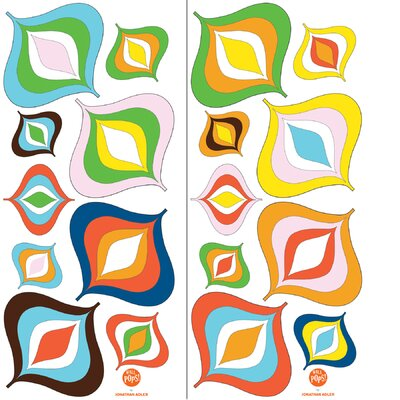 WallPops! Jonathan Adler Bargello Wave Wall Art Kit