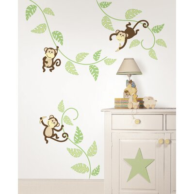 WallPops! Art Kit Monkeying Around Wall Decal