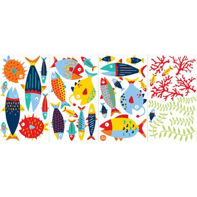 WallPops! Wall Art Fish Tales Wall Decal Kit