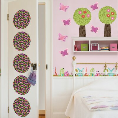 WallPops! Kids Dilly Dally Wall Decal Set