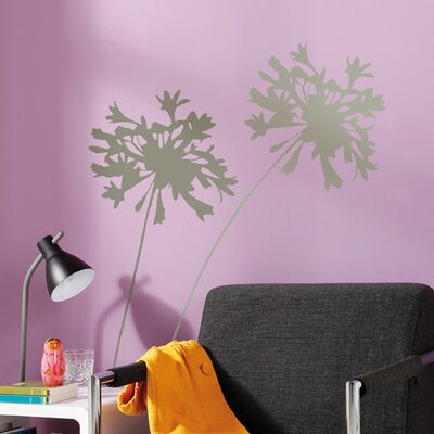 Brewster Home Fashions Komar Living Silhouette Wall Decal