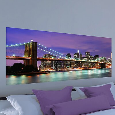 Brewster Home Fashions Euro New York Panoramic Wall Decal