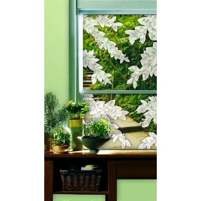 Brewster Home Fashions Willow Etched Glass Decals