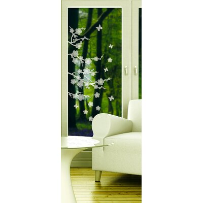 Blossom Etched Wall Decal