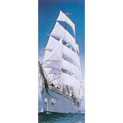 Brewster Home Fashions Komar Sailing Ship 2-Panel Photomural