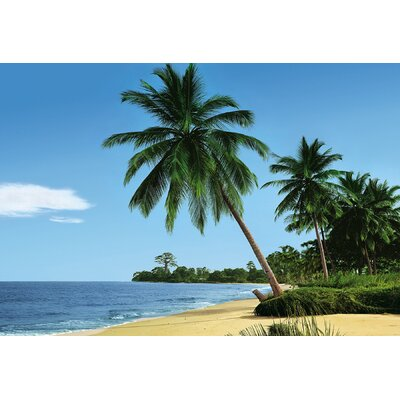 Brewster Home Fashions Komar African Beach 8-Panel Wall Mural