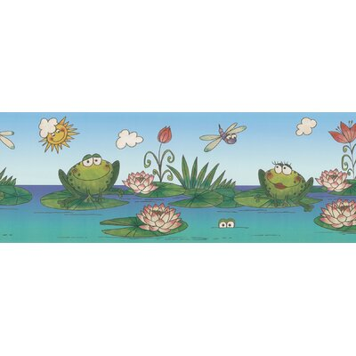 Kidding Around Frog Wall Border