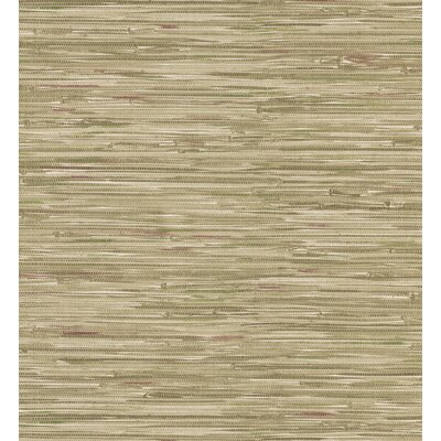Brewster Home Fashions Destinations by the Shore Faux Grasscloth Wallpaper in Beige