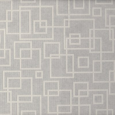 Brewster Home Fashions Paint Plus III Retro Out-Squares Wallpaper