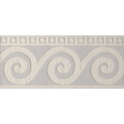 Brewster Home Fashions Paint Plus III Roman Swirl Wall Border