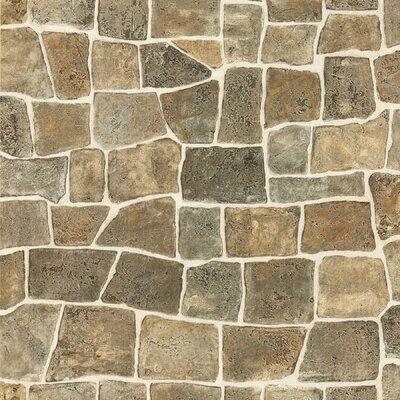 Textures, Techniques and Finishes Stone Wall Wallpaper