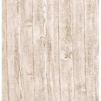 Rustic wood panel wallpaper