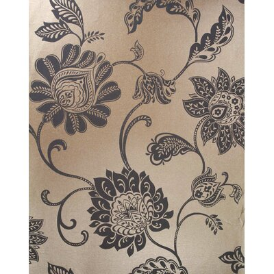 Savoy Jacobean Trail Wallpaper in Gray