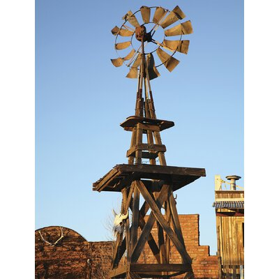Brewster Home Fashions Ultimate Western Windmill Wall Mural