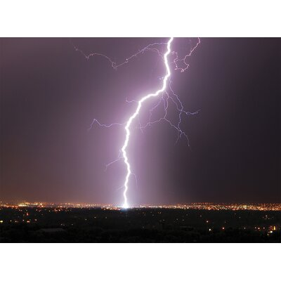 Brewster Home Fashions Ultimate Lightning Strike Wall Mural