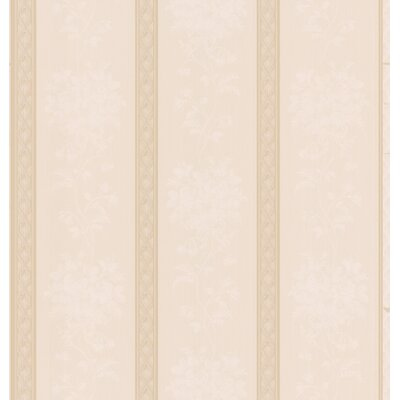 Brewster Home Fashions Stripe Ornate Wallpaper