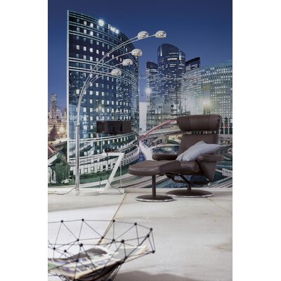 Brewster Home Fashions Komar La Defense Wall Mural
