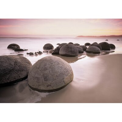 Brewster Home Fashions Ideal Decor Moeraki Boulders Wall Mural