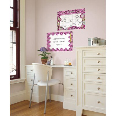 Brewster Home Fashions WallPops Dry-Erase Very Berry Wall Decal Set