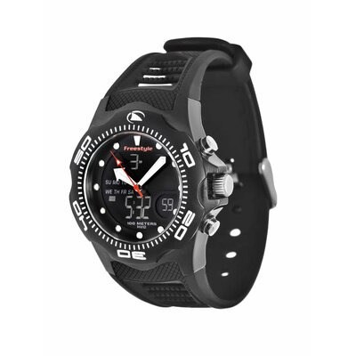 Freestyle Active Shark X 2.0 Watch in Black Ionic Plated