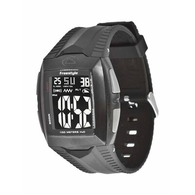 Freestyle Performance Shark Buzz 2.0 Watch in Black Ionic Plated