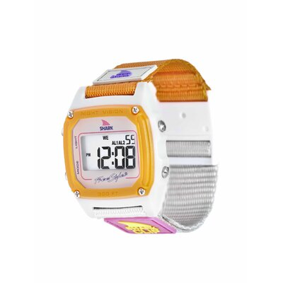Freestyle Shark Clip Watch in Taupe / Neon