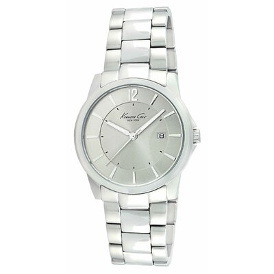 Kenneth Cole Men's Classics Round Bracelets Watch in Grey