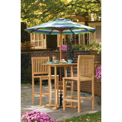 Oxford Garden Sonoma 3 Piece Bar Height Dining Set