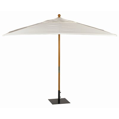 oxford garden 10 39 sunbrella rectangular market umbrella