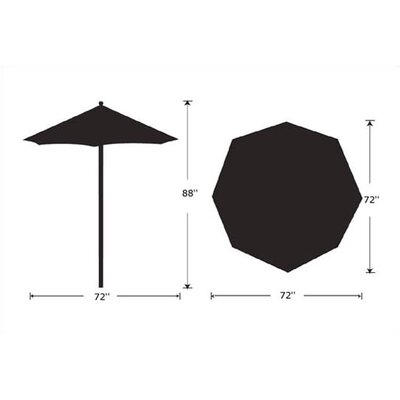 Oxford Garden 6' Market Umbrella